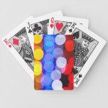 Luces de la ciudad cartas de juego