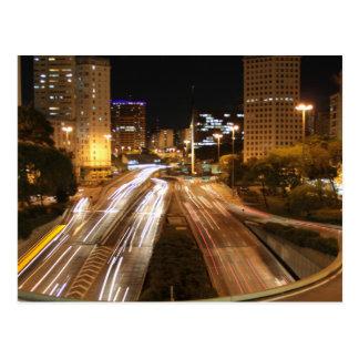 Luces de la ciudad de São Pablo Postales