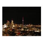 Luces de la ciudad de Toronto Postales