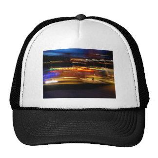 Luces de la ciudad gorras de camionero