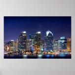 Luces de la ciudad poster