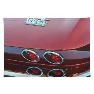 Luces de la cola del rayo de picadura del Corvette Manteles