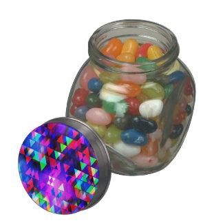 Luces de la creación - lata del caramelo jarras de cristal