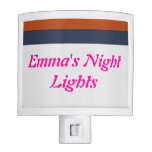 Luces de la noche de Emma fresca del color