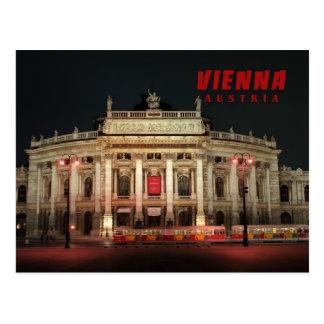 Luces de la noche de Viena Postales