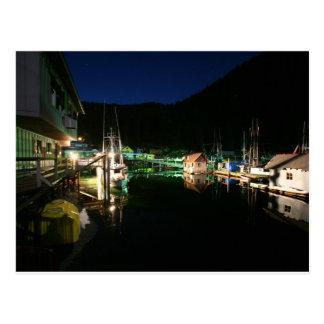 Luces de la noche postales