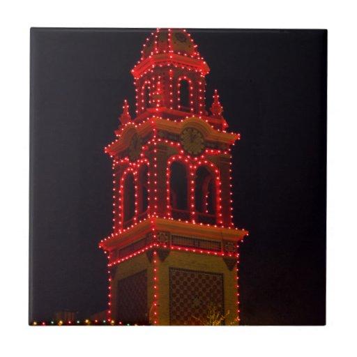 ¡Luces de la plaza de Kansas City! Azulejos Ceramicos