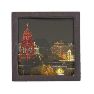 Luces de la plaza de Kansas City Caja De Recuerdo De Calidad