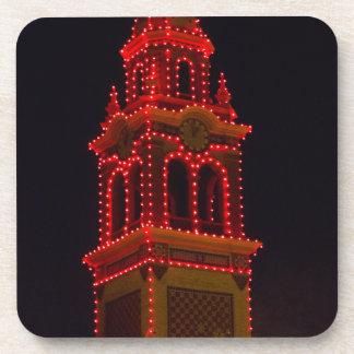 ¡Luces de la plaza de Kansas City! Posavasos De Bebida