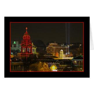 Luces de la plaza de Kansas City Tarjetón