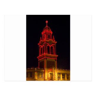 ¡Luces de la plaza de Kansas City! Tarjeta Postal