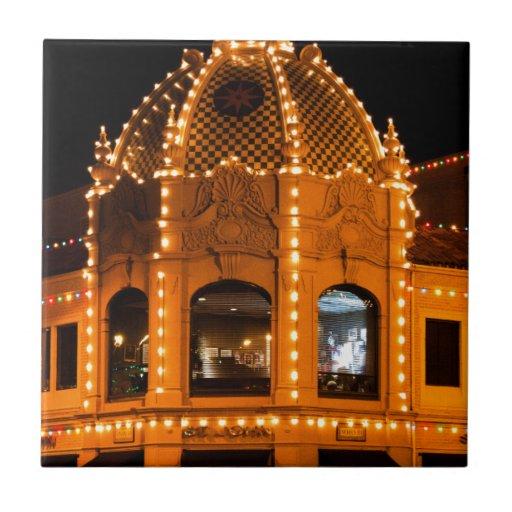 ¡Luces de la plaza en Kansas City! Teja