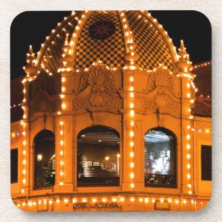 ¡Luces de la plaza en Kansas City! Posavasos De Bebida