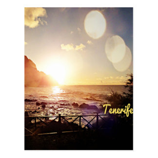 Luces de la tarde de Tenerife Tarjetas Postales