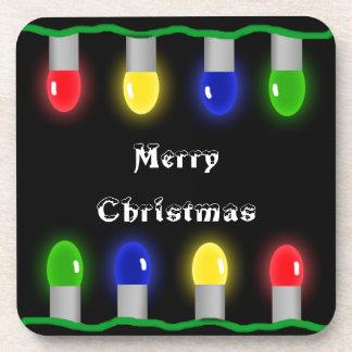 Luces de las Felices Navidad Posavaso