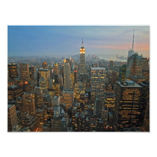 Luces de Manhattan Arte Fotografico