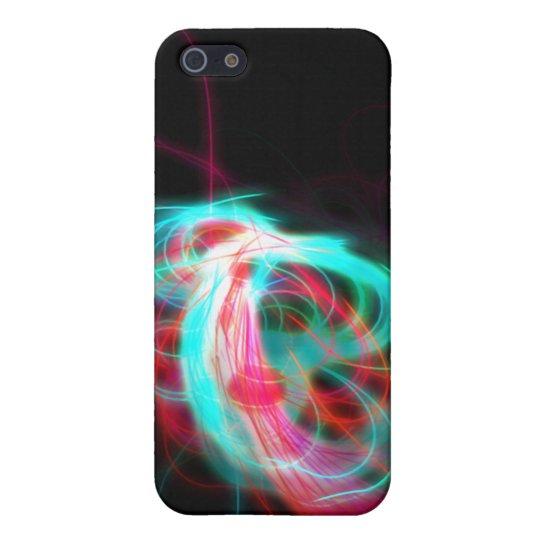 Luces de medianoche iPhone 5 fundas