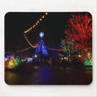 Luces de navidad a montones tapetes de raton