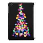 Luces de navidad borrosas fundas de iPad mini retina
