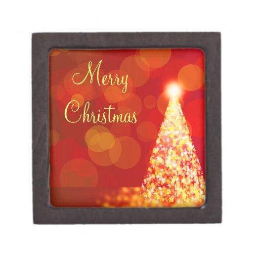 Luces de navidad caja de joyas de calidad