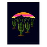 Luces de navidad del cactus del Saguaro de Arizona Postal