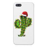 Luces de navidad del Saguaro iPhone 5 Carcasa