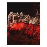 luces de navidad flyer a todo color