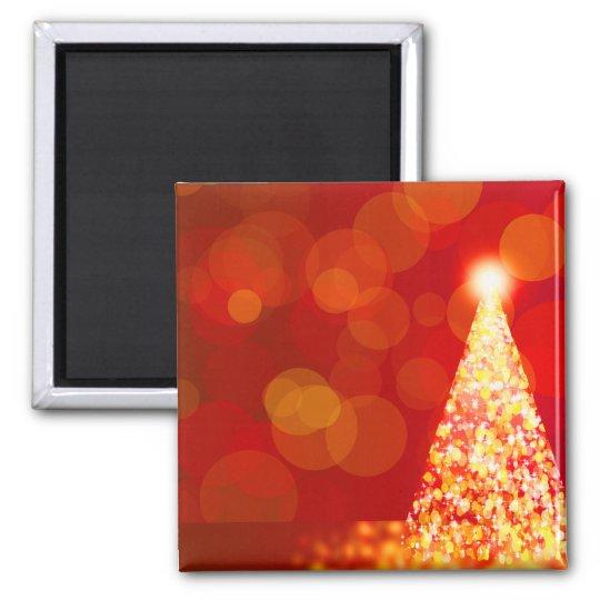 Luces de navidad imán cuadrado