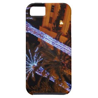 Luces de navidad Sicilia iPhone 5 Case-Mate Fundas