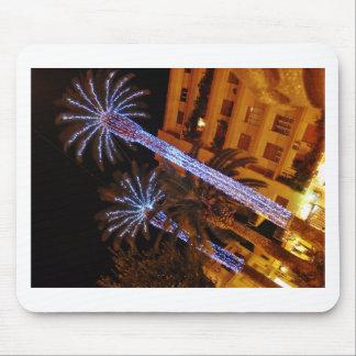 Luces de navidad Sicilia Mouse Pad
