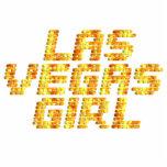 Luces de neón - chica de Las Vegas Escultura Fotográfica