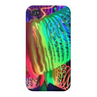 Luces de neón iPhone 4/4S carcasa