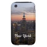 Luces de Nueva York iPhone 3 Tough Carcasas