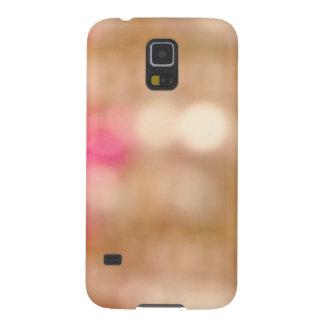 Luces de oro de Bokeh Carcasa De Galaxy S5