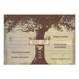 luces del árbol y de la secuencia que casan las ta invitación