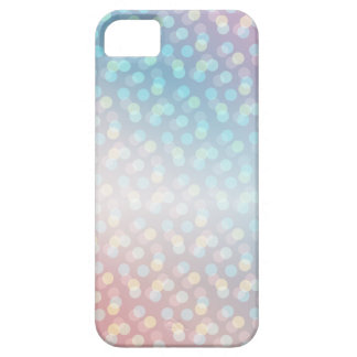 Luces del arco iris funda para iPhone 5 barely there