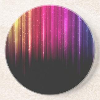 Luces del arco iris posavasos manualidades