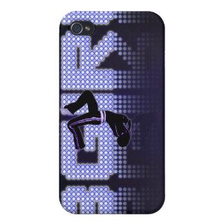 Luces del Bgirl iPhone 4/4S Carcasas