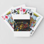 Luces del carnaval baraja de cartas