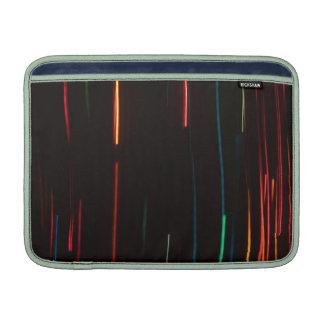 Luces del movimiento del color fundas para macbook air