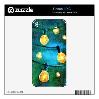 Luces del patio calcomanía para iPhone 4S