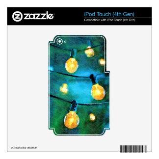 Luces del patio iPod touch 4G calcomanías