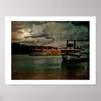Luces del río Hudson Impresiones