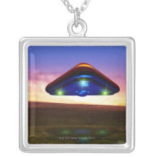 Luces del UFO Colgante Cuadrado