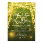 Luces elegantes de la secuencia del oro del boda anuncios