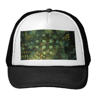 Luces en el gorra del arte abstracto de la ciudad
