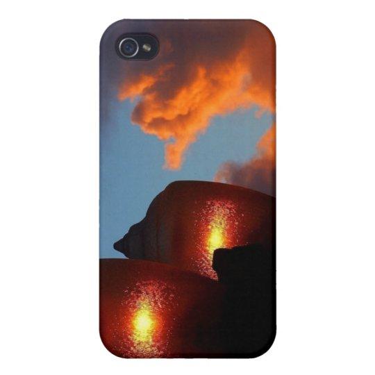 Luces en la puesta del sol iPhone 4/4S funda