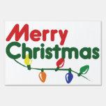 Luces festivas de las Felices Navidad