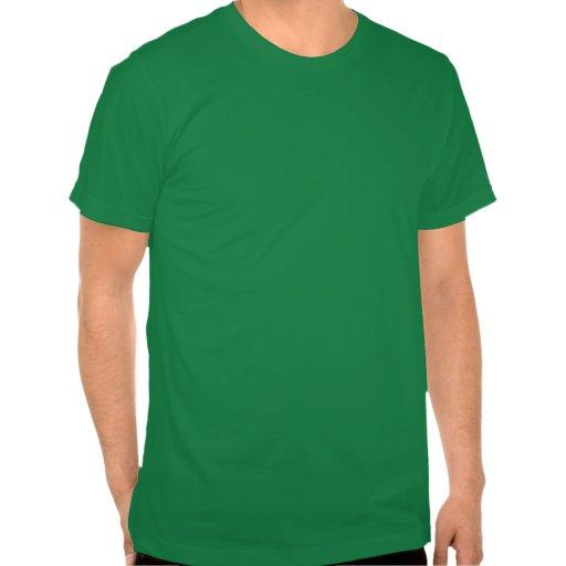 Luces grandes y altas de la travesía de ferrocarri camiseta