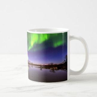 Luces hermosas tazas de café
